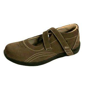 Leather Ortho Drew Comfy Flat Shoes